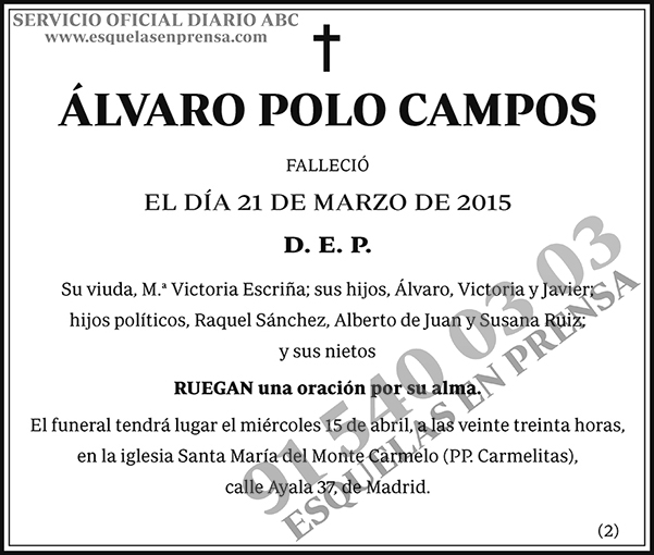 Álvaro Polo Campos